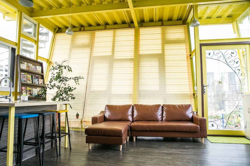 玻璃屋客廳