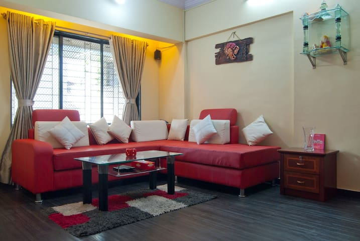 Furnished One Bedroom Hall Kitchen - Navi Mumbai - Apartment