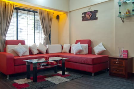 Furnished One Bedroom Hall Kitchen - Navi Mumbai