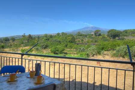 Between Etna and Tormina's beaches! - Apartemen