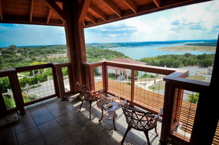 View Of Lake Travis From King Balcony