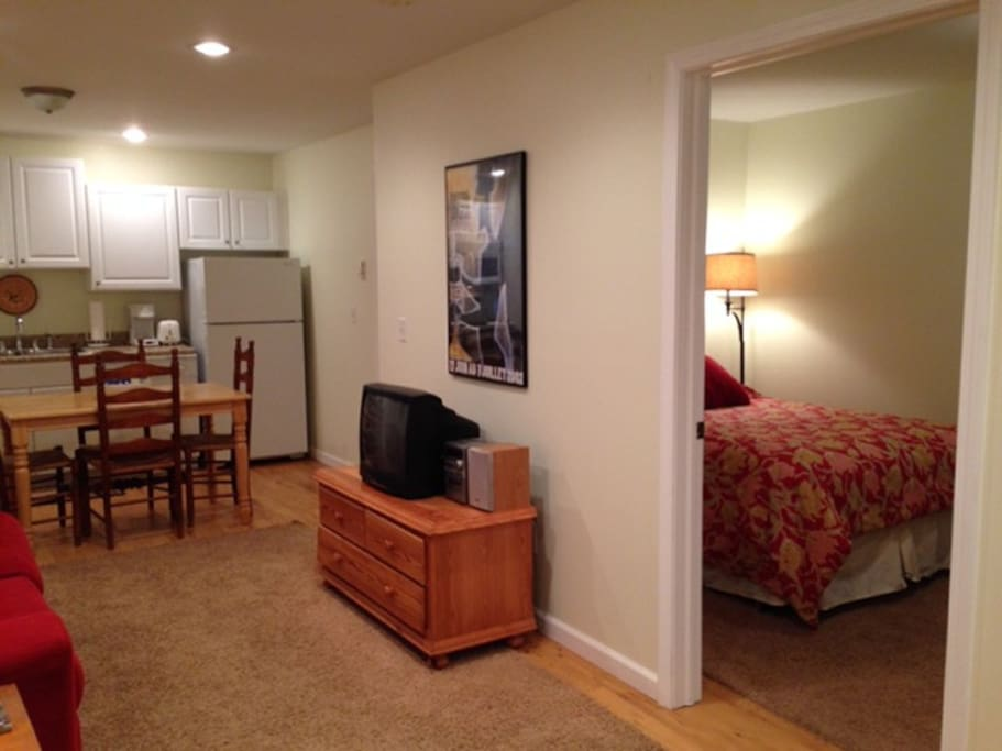 Briarwood Two Living Area and Bedroom Door