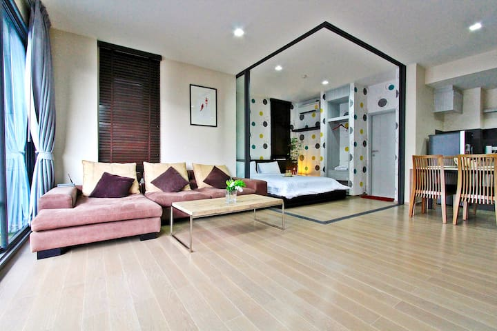 2BR Luxury Condo-23 Degree Khao Yai - Mu Si - Daire