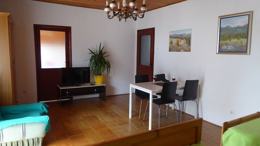 Large room~balcony~bath -quiet area - Zadar - Dům