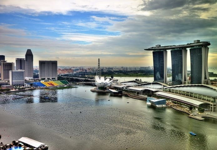 【❤HOT PICK!】Luxurious Stay【Marina Bay】