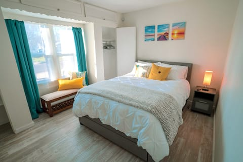 CLEAN|Comfy work-from-home|Staycation|Fast Wifi!