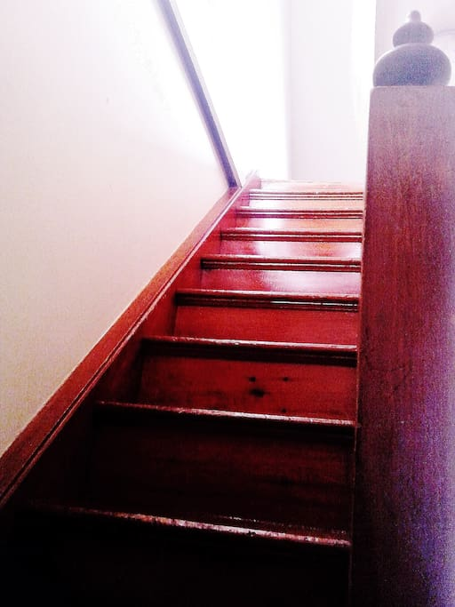The stairs to your private floor.