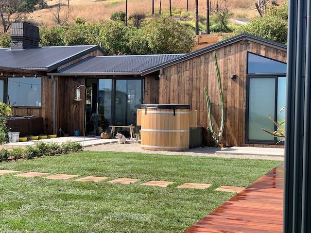 Malibu Ocean View Contemporary Ranch Home