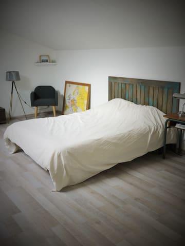 Belle chambre au coeur des vignes - Saillans - House