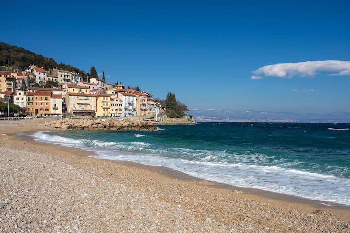 Just few meters from the beach - Mošćenička Draga - Apartamento