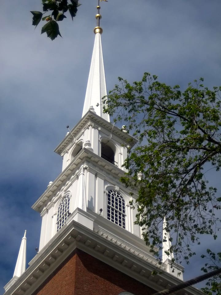 View of Harvard's Memorial Church