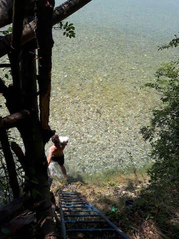 Finestra sul Piave tra Asolo e colli del Prosecco