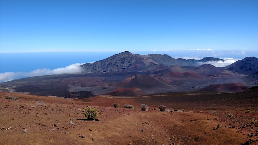 Hike Haleakala. Or visit it at sunrise for a moving experience. Make reservation 60 days ahead. I can give you details.