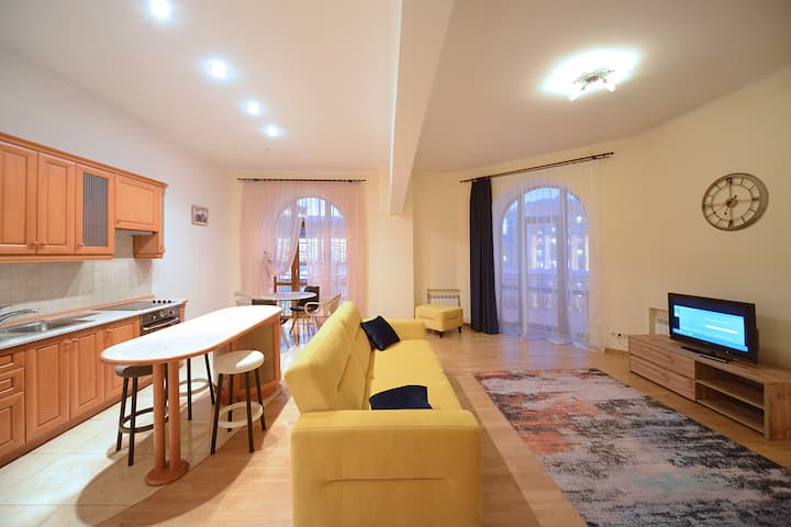 Penthouse With Huge Patio on Kreschatyk St ID 827
