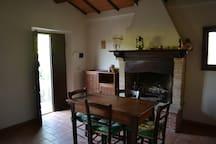 Vigneti Cottage Rosa: Living Room