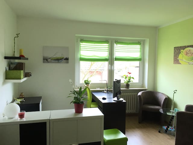 """Grüne Harmonie"" Multi Room - Hamburg - Apartment"