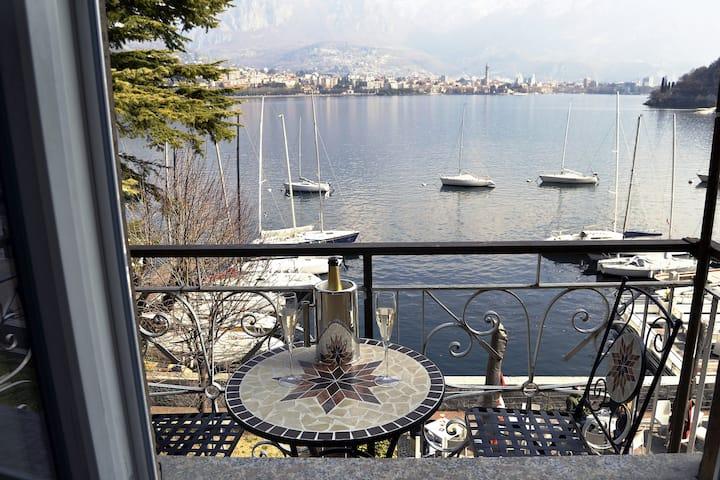 COMO LAKE HOLIDAY APARTMENT - AMAZING LAKE VIEW