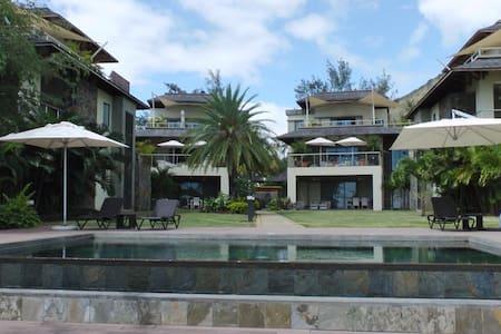 Belle Crique superbe appartement pieds dans l'eau! - Tamarin - Kondominium