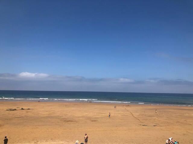 Chalet en la playa nuevo.