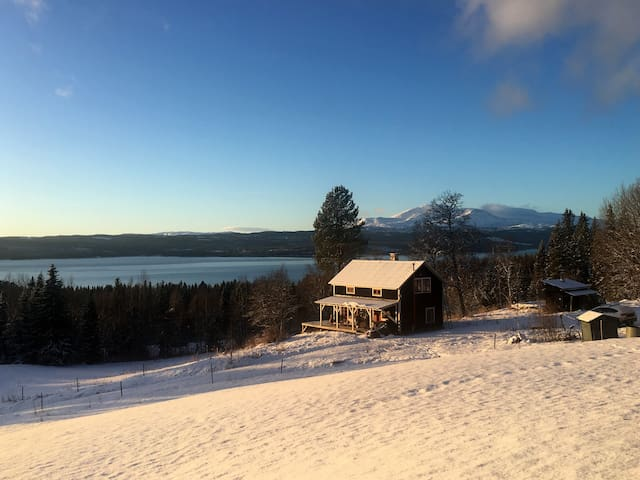 Stay in the wild with the best view over Åreskutan - Åre N - House