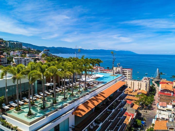 5⭐Ritzy Pier 57 ⛱Ocean Views Zona Romantica