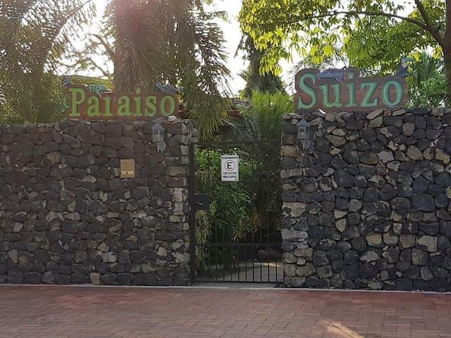 Entrance/ Parking