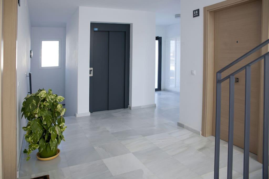 Ascensor para acceso al garaje