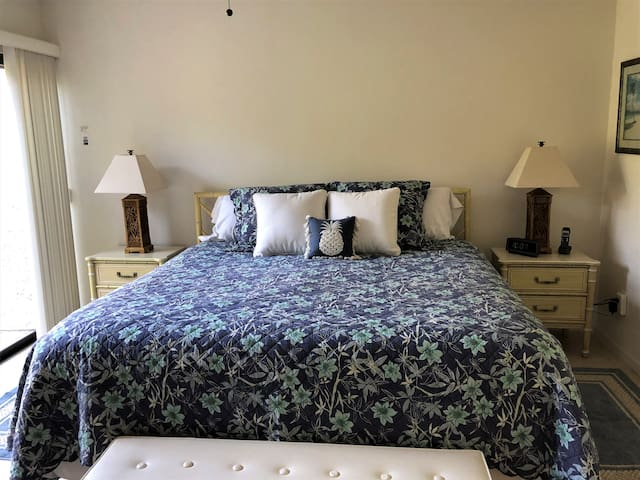 MASTER BEDROOM WITH PREMIUM BEAUTY REST KING SIZE BED