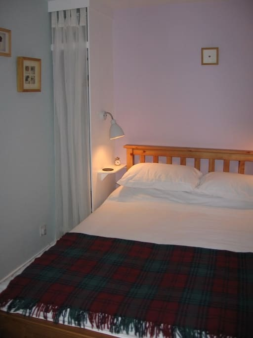 Cosy but comfortable double bedroom.