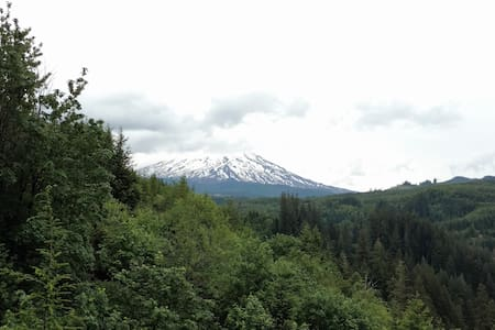 Top 20 cougar vacation rentals vacation homes condo for Rental cabins near mt st helens