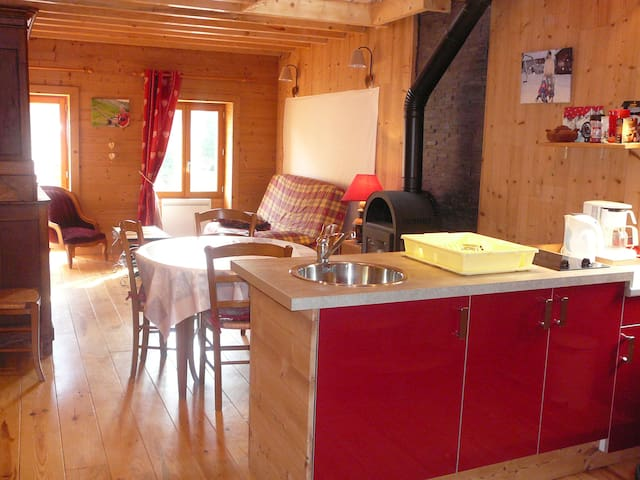 Oliver's moutain flat - Saint-Vital - Appartement