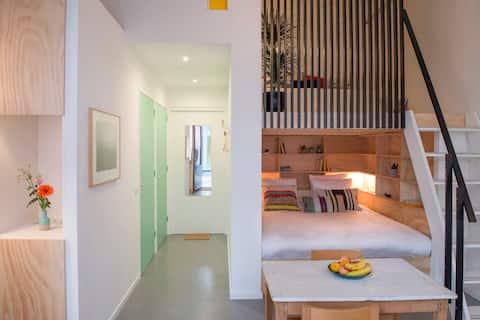 NEW! Super cozy Amsterdam mini-loft: NachtMuseum