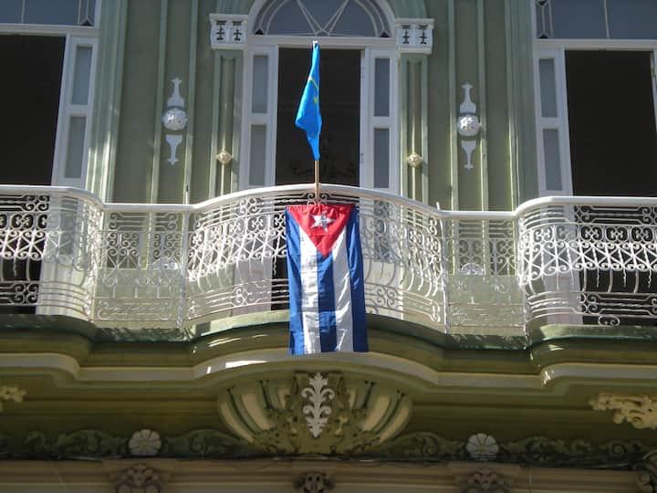 Colonial house in Havana.
