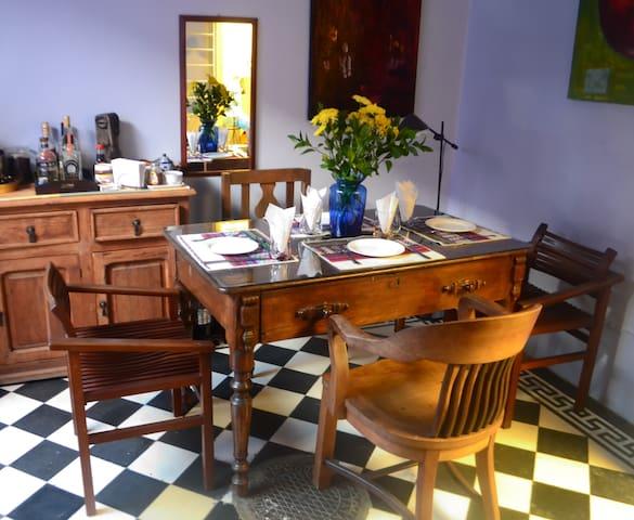 Casa con estilo, habitación privada