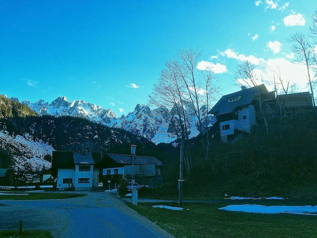 House with amazing mountain views - Gosau - Rumah
