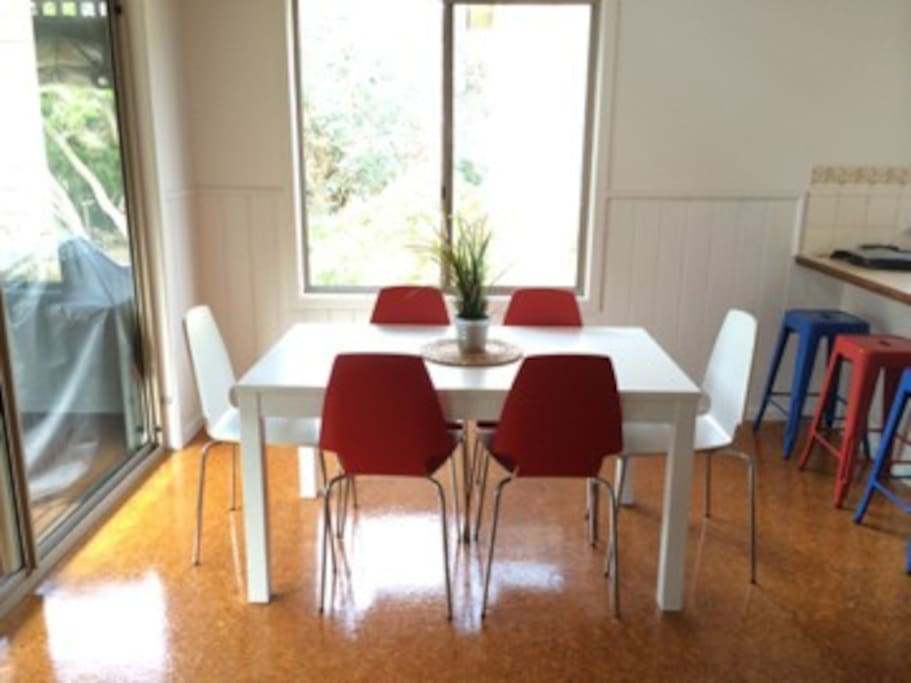 Dining Area with brand new furniture
