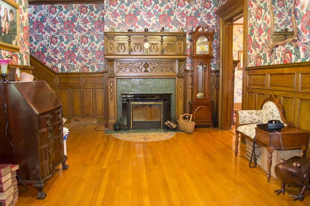 Front entry hall.