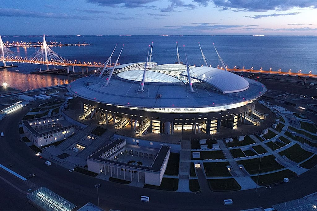 "Стадион ""Санкт-Петербург Арена"" - 15 минут"