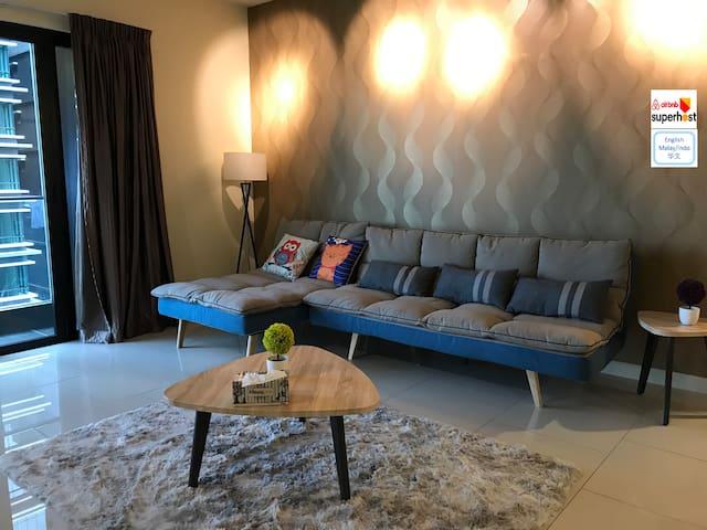 Near KLCC|Luxury 3R Condo KLCity Sky Pool 豪华舒适3房公寓