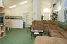 Central great room - open plan, bright and spacious