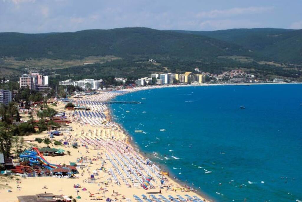 Piękne i ciepłe Morze Czarne