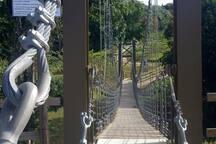 Barandillo Hanging Bridge @ Complejo Deportivo, San Sebastian