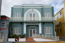 City Hall Historical Building Art Deco