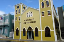 Historical Archives, 2 minutes walk form San Sebastian Bed & Breakfast, free admittance, open all week including weekends 17872809398 17879422867