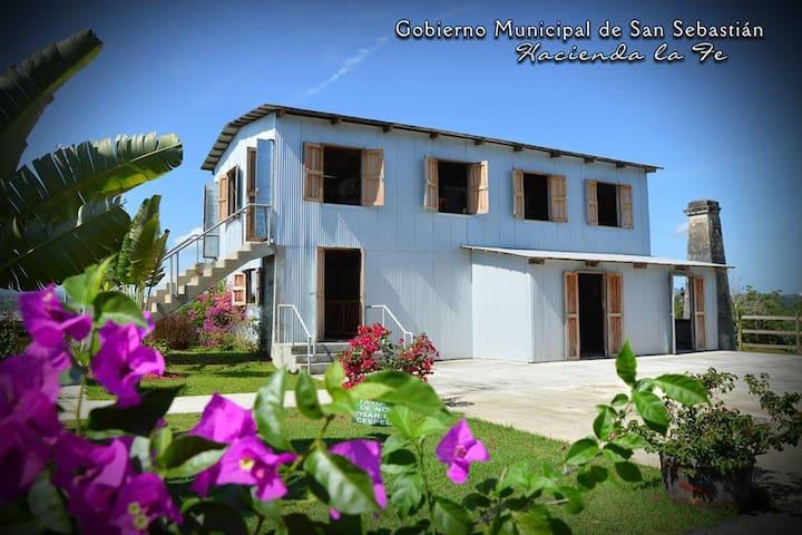 Hacienda la Fe, Agriculture Museum, open on week ends only 10 min away from San Sebastian Bed & Breakfast 17879422867