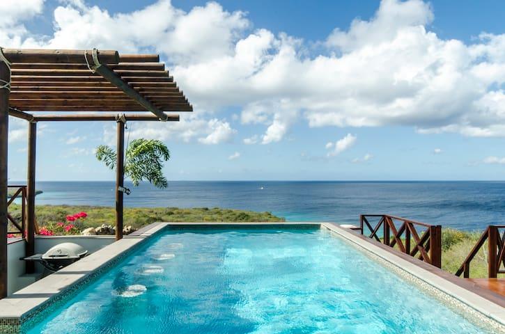 Spectaculaire villa a/d Carib. Zee - Cas Abao - Villa