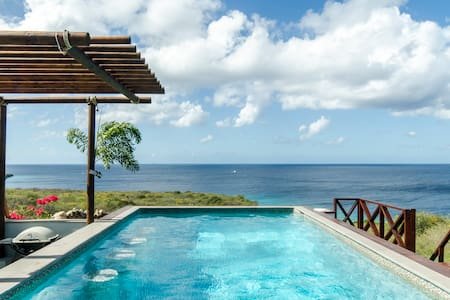 Spectaculaire villa a/d Carib. Zee - Cas Abao