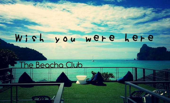 Phiphi island Beacha club Beachfront room