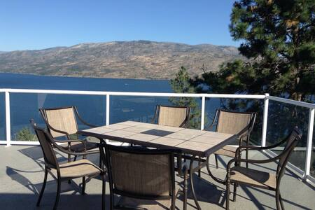 Unbeatable Lake View suite - Peachland
