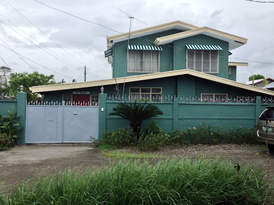 The house from the outside
